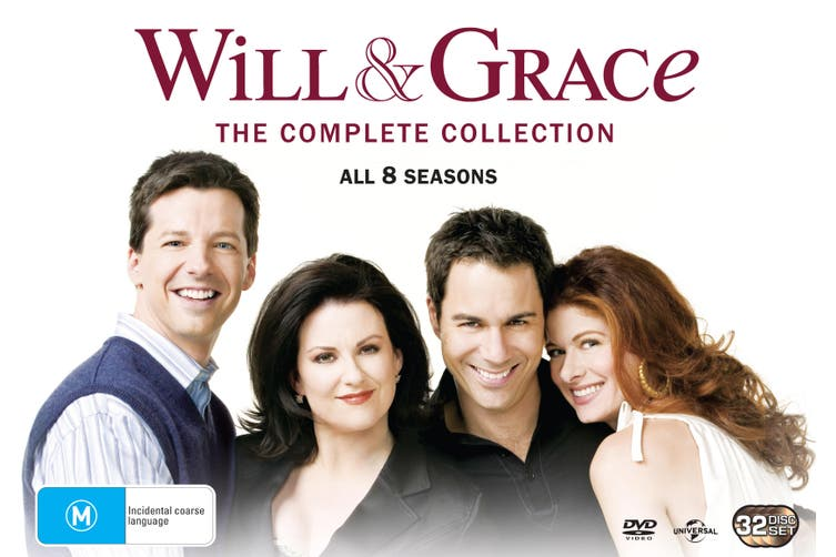 Will and Grace The Complete Will and Grace DVD Region 4