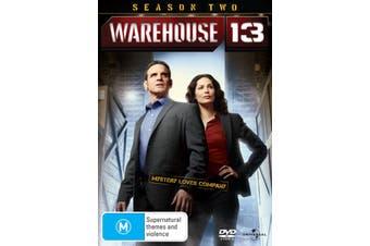 Warehouse 13 Season 2 DVD Region 4
