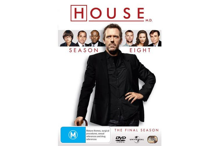 House Season 8 The Final Season DVD Region 4
