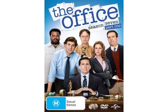 The Office An American Workplace Season 7 Part One DVD Region 4