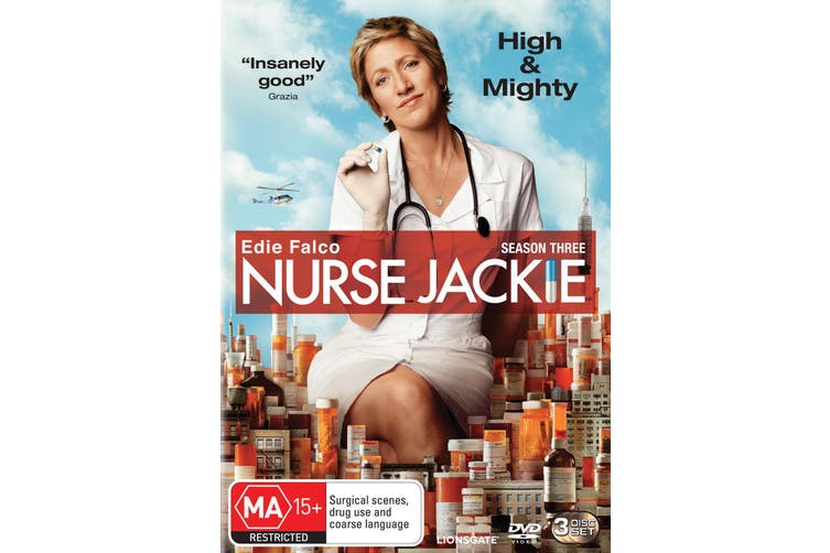 Nurse Jackie Season 3 DVD Region 4