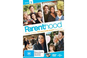 Parenthood Season 3 DVD Region 4
