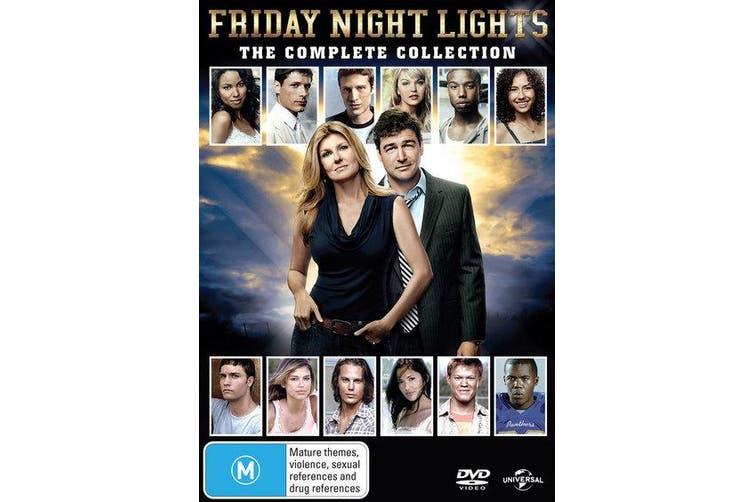 Friday Night Lights Series 1-5 DVD Region 4