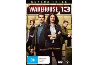 Warehouse 13 Season 3 DVD Region 4