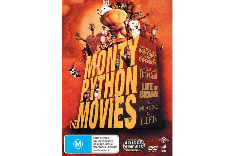 Monty Python The Movies DVD Region 4