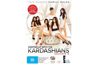 Keeping Up With the Kardashians Season 6 DVD Region 4