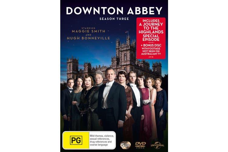 Downton Abbey Series 3 Box Set DVD Region 4