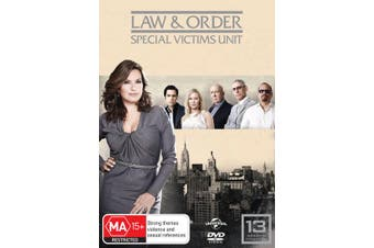 Law and Order Special Victims Unit Season 13 DVD Region 4