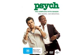 Psych The Complete Fifth Season 5 DVD Region 4