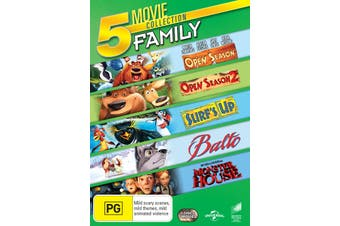 Open Season / Open Season 2 / Surfs Up / Balto / Monster House DVD Region 4