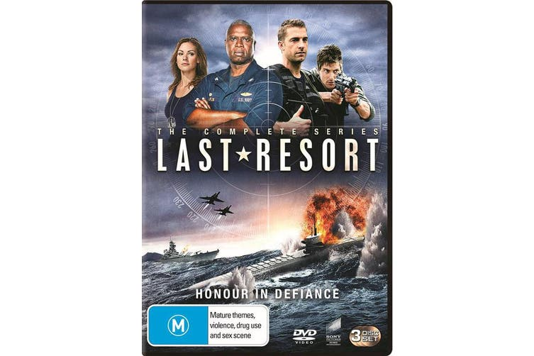 Last Resort Season 1 DVD Region 4