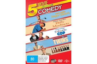 Happy Gilmore / Billy Madison / Kindergarten Cop / Twins / Liar Liar DVD