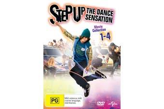 Step Up 1-4 DVD Region 4