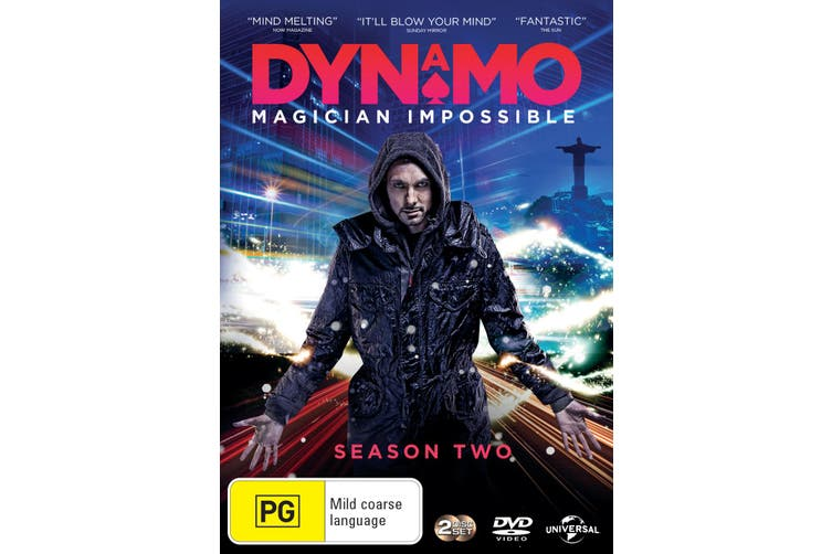 Dynamo Magician Impossible Series 2 DVD Region 4
