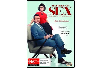 Masters of Sex Season 1 DVD Region 4