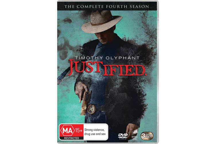 Justified The Complete Fourth Season 4 DVD Region 4
