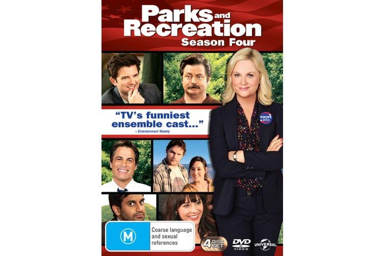 Parks and Recreation Season 4 DVD Region 4