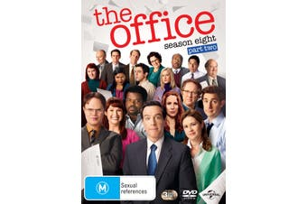The Office An American Workplace Season 8 Part Two DVD Region 4