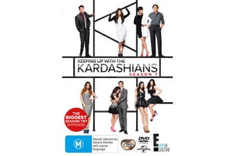 Keeping Up With the Kardashians Season 7 DVD Region 4