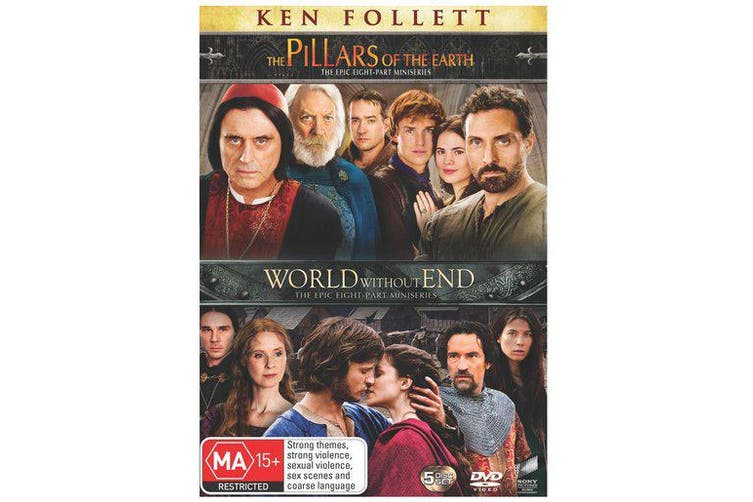 The Pillars of the Earth / World Without End DVD Region 4