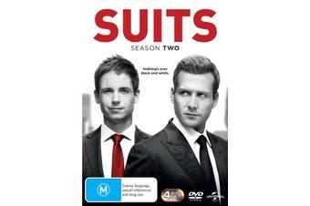 Suits Season 2 DVD Region 4