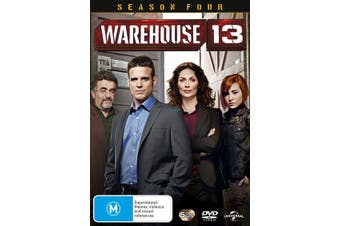 Warehouse 13 Season 4 DVD Region 4