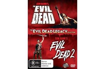 The Evil Dead 1 & 2 DVD Region 4
