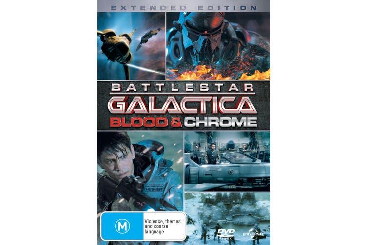 Battlestar Galactica Blood and Chrome DVD Region 4