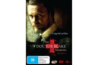 The Doctor Blake Mysteries Series 1 DVD Region 4