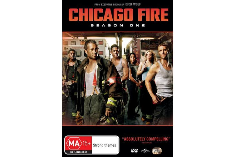 Chicago Fire Season 1 DVD Region 4