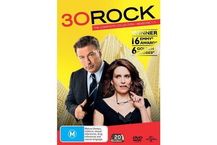 30 Rock Seasons 1-7 DVD Region 4