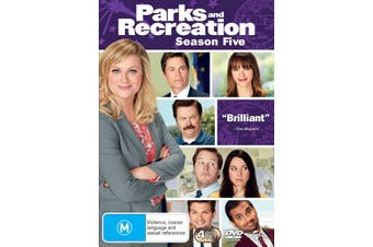 Parks and Recreation Season 5 DVD Region 4