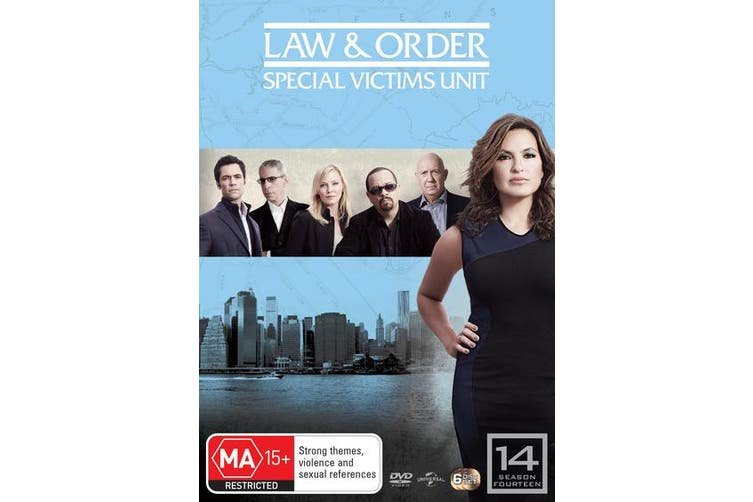 Law and Order Special Victims Unit Season 14 DVD Region 4