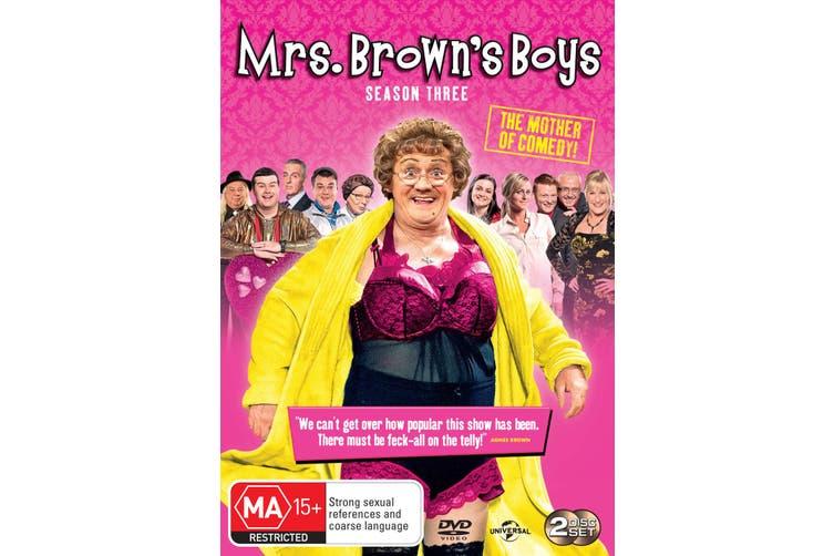 Mrs Browns Boys Series 3 DVD Region 4