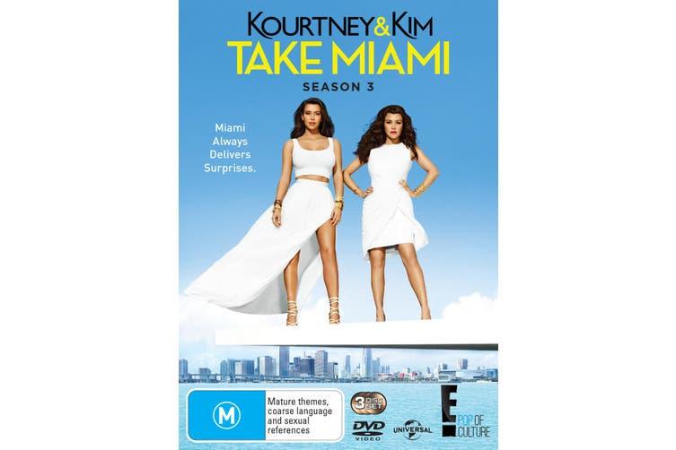 Kourtney and Kim Take Miami Season 3 DVD Region 4