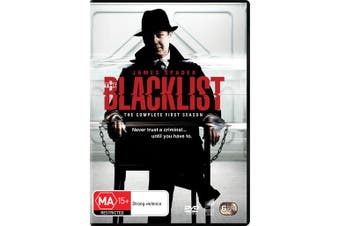 The Blacklist The Complete First Season 1 DVD Region 4