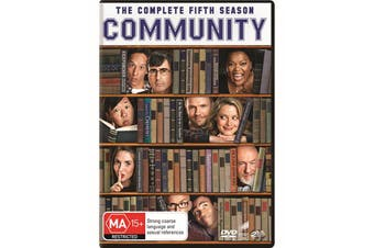 Community The Complete Fifth Season 5 DVD Region 4