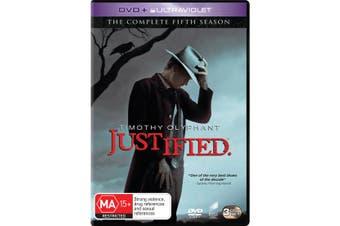 Justified The Complete Fifth Season 5 DVD Region 4