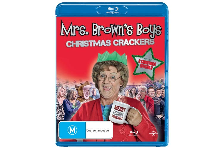 Mrs Browns Boys Christmas Crackers DVD Region 4