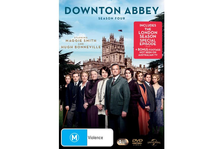 Downton Abbey Series 4 Box Set DVD Region 4