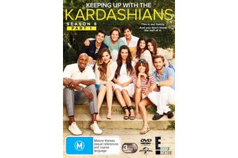 Keeping Up With the Kardashians Season 8 Part 1 DVD Region 4