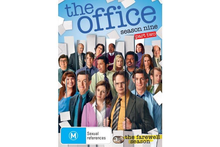 The Office An American Workplace Season Nine Part Two DVD Region 4