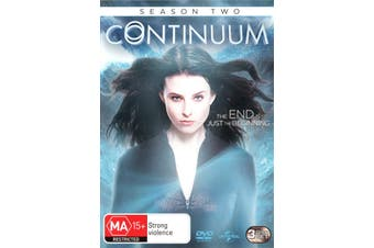 Continuum Season 2 DVD Region 4