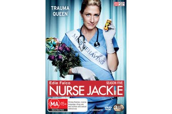 Nurse Jackie Season 5 DVD Region 4