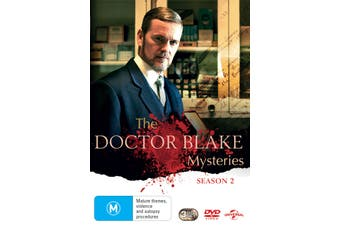 The Doctor Blake Mysteries Series 2 DVD Region 4