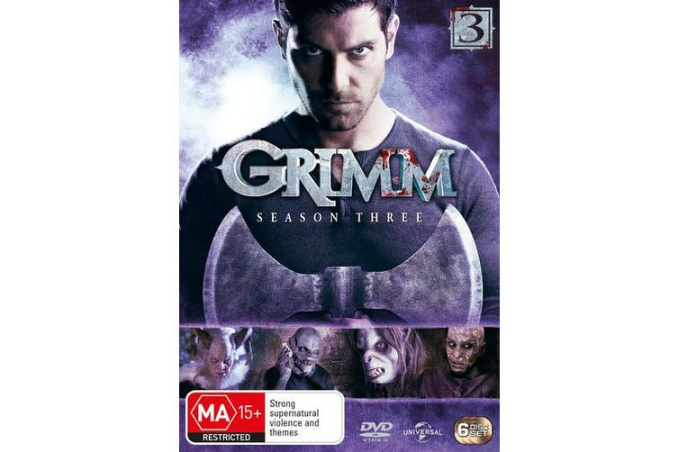 Grimm Season 3 DVD Region 4