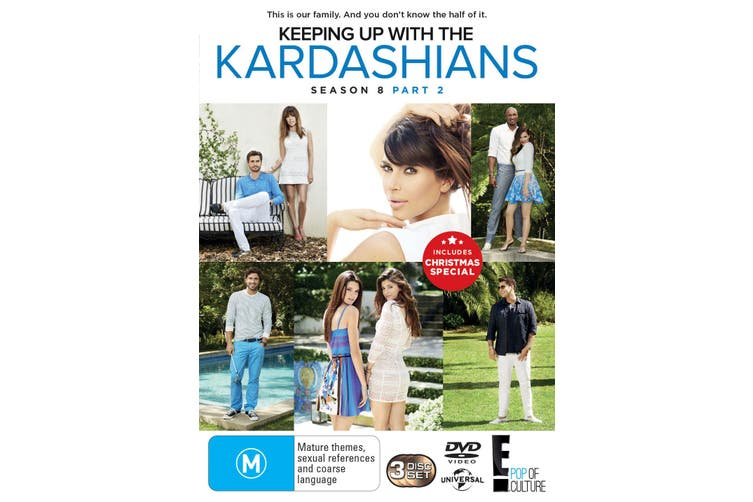 Keeping Up With the Kardashians Season 8 Part 2 DVD Region 4
