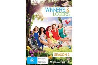 Winners & Losers Season 3 DVD Region 4