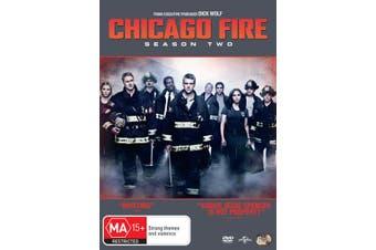 Chicago Fire Season 2 DVD Region 4