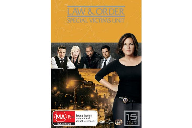 Law and Order Special Victims Unit Season 15 DVD Region 4